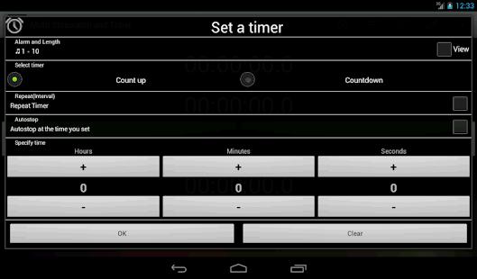 Multi Stopwatch & Timer  free