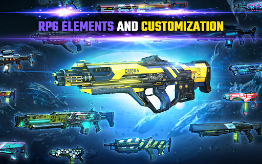 SHADOWGUN LEGENDS - FPS and PvP Multiplayer games apkpoly screenshots 12