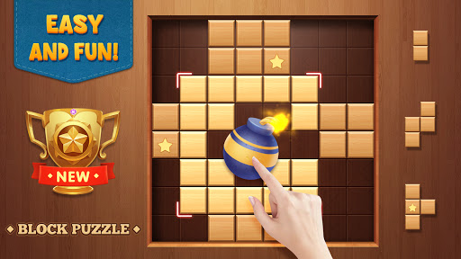 Wood Block Puzzle - Free Classic Brain Puzzle Game 1.5.3 screenshots 24