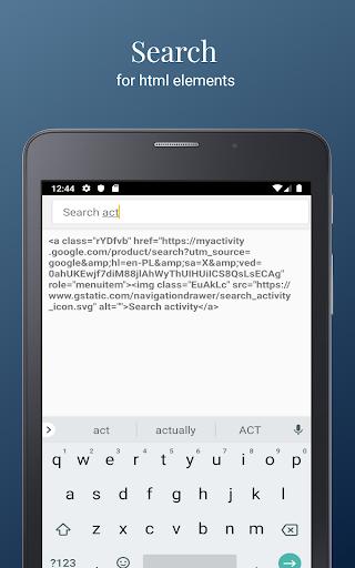 HTML Website Inspector - View & Edit Website HTML 2.991 Screenshots 15