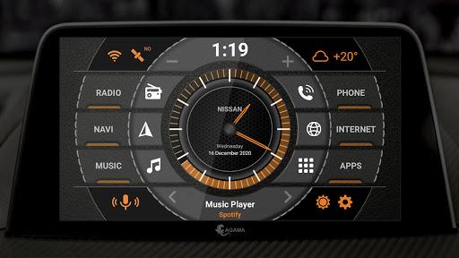 AGAMA Car Launcher 2.6.0 Screenshots 1