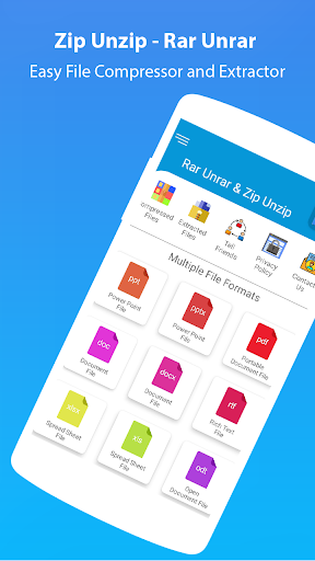 Rar Extractor for Android: Zip Reader, RAR Opener 1.7.2 screenshots 4