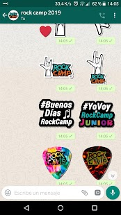 Rock Camp - Stickers Screenshot