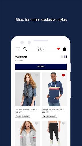 gap me online shopping screenshot 2