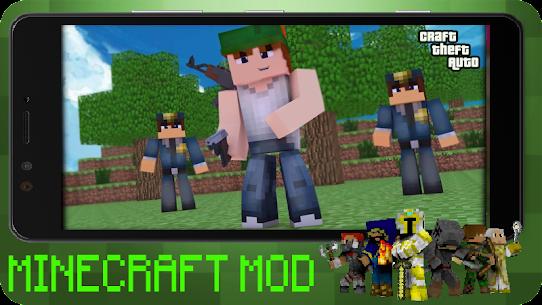 Craft Theft Auto for GTA Minecraft 2021 Apk Download 4