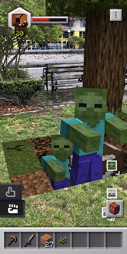 Minecraft Earth APK MOD screenshots 5