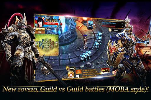 Code Triche Arcane Online - Best 2D Fantasy MMORPG mod apk screenshots 5