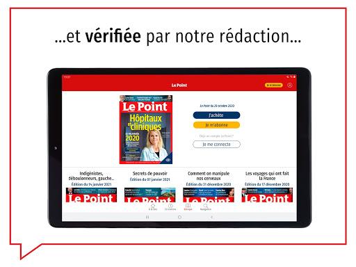 Le Point : journal, actualitu00e9s et infos en continu android2mod screenshots 18