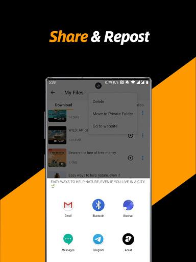 Video Downloader, Private File Downloader & Saver apktram screenshots 12
