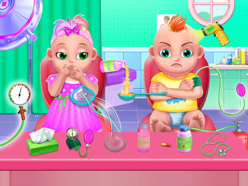 Pregnant Mommy And Twin Baby Care android2mod screenshots 9