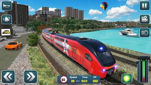 Euro Train Driver Sim 2020: 3D Train Station Games apkdebit screenshots 3