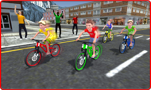 Kids Bicycle Rider Street For Pc – Download On Windows 7/8/10 And Mac Os 2