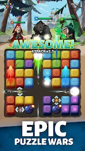 Fable Wars: Puzzle Quest RPG MOD (Unlimited Skill) 1