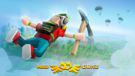 Mad GunZ - shooting games, online, Battle Royale modiapk screenshots 1