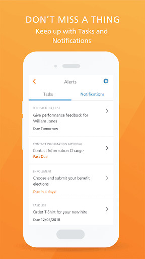 Paycor Mobile modavailable screenshots 7
