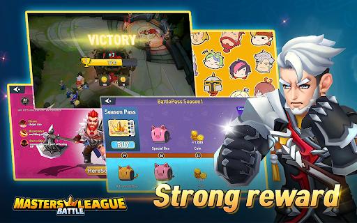 Masters Battle League 5v5 : Legend MOBA PvPTrainer screenshots 10