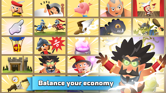 Idle King – Medieval Clicker Mod Apk 1.0.24 (Unlimited Money) 10