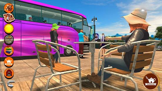 Tourist Coach Highway Driving Mod Apk