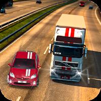 Highway Car Traffic Racing Icon
