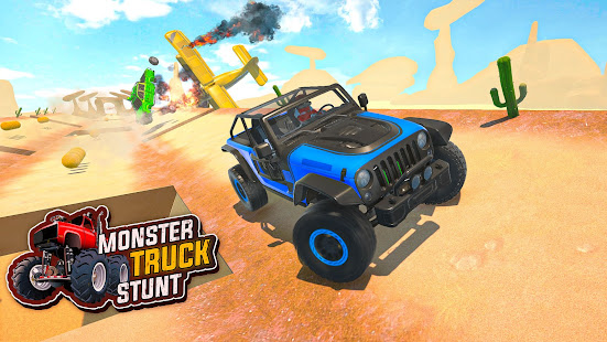Download Mountain Climb Stunt - Off Road Car Driving Games For PC Windows and Mac apk screenshot 1