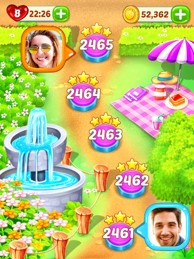 Gummy Paradise - Free Match 3 Puzzle Game 1.5.4 screenshots 18