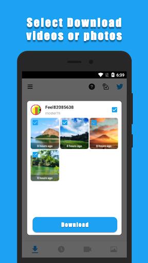 Download Twitter Videos (Super Fast)  screenshots 1