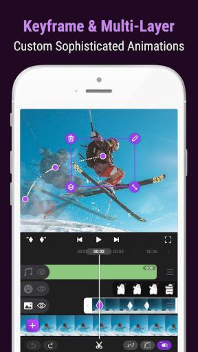 Motion Ninja - Pro Video Editor & Animation Maker  screenshots 1