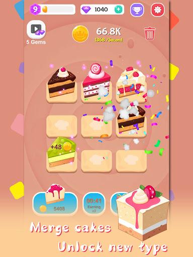 Merge Cake Mania - idle baking tycoon  screenshots 13