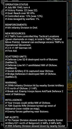 Kursk Biggest Tank Battle (turn-limit) 6.0.2.0 screenshots 5