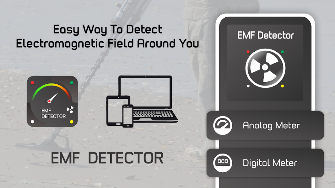 EMF Detector | EMF Meter | Paranormal EMF Scanner