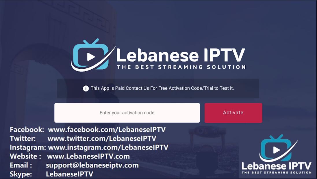 LebaneseIPTV CODES screenshot 2