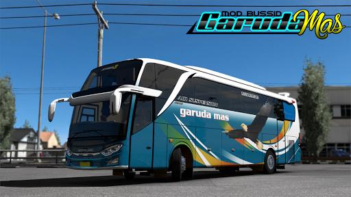 MOD Bus Garuda Mas 1.3 Screenshots 1