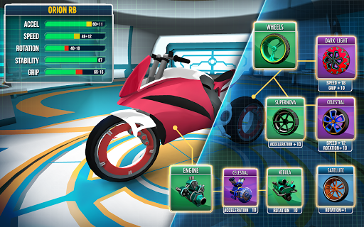 Gravity Rider: Extreme Balance Space Bike Racing 1.18.4 Screenshots 11