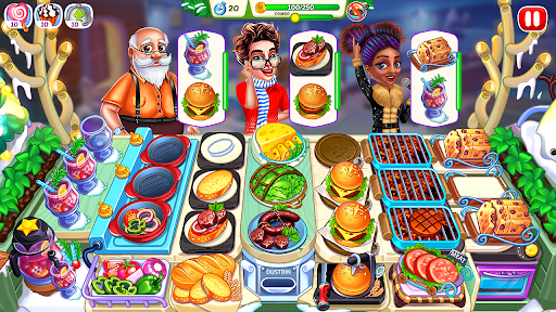 Christmas Fever : Cooking Games Madness 1.0.7 screenshots 2