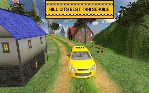 Hill Taxi Simulator Games: Free Car Games 2020 3