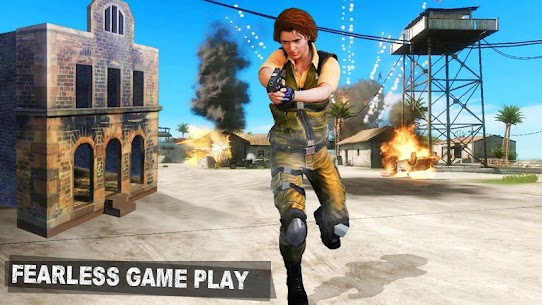 Modern Girl Commando: Free FPS Shooting Adventure Online Hack Android & iOS 3