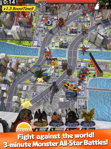GODZILLA BATTLE LINE 1.1.3 screenshots 13