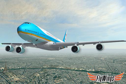Flight Simulator 2015 FlyWings Free 2.2.0 screenshots 4
