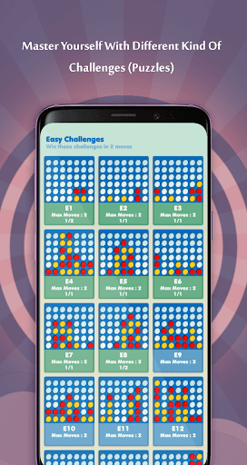 Four In A Row Online   Four In A Line Puzzles 5.1.1.5 screenshots 5