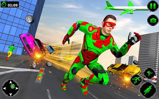 Light Robot Superhero Rescue Mission 2 32 screenshots 9