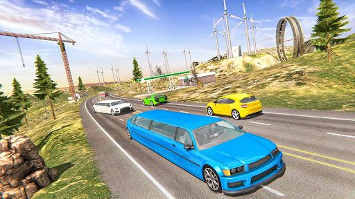 Limousine Taxi Driving Game android2mod screenshots 11