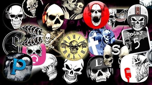 Skull theme apktram screenshots 2