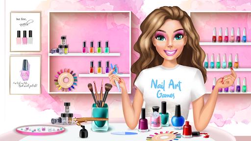 3D Nail Art Games for Girls  screenshots 1