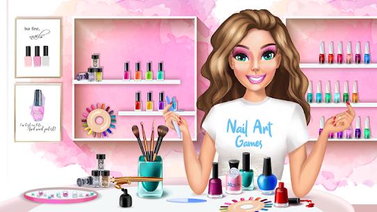 3D Nail Art Games for Girls 3