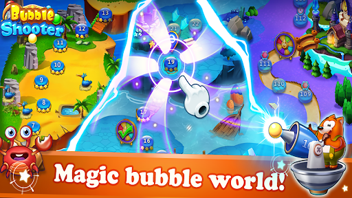 Bubble Shooter - Addictive Bubble Pop Puzzle Game apktram screenshots 5