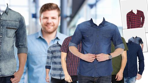 Man Shirt Photo Suit Editor android2mod screenshots 6