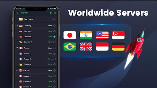 3X VPN - Free, Unlimited, Safe surf, Speed up apps apkdebit screenshots 4