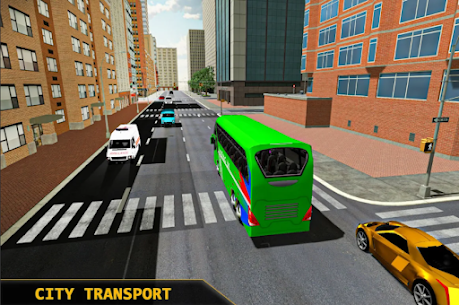 Coach Bus Simulator 2021  City Bus Driving Games Apk 3