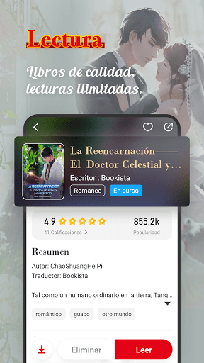 Bookista - La mayor app de novelas web en espau00f1ol android2mod screenshots 3