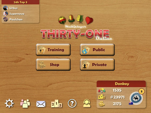 Thirty-One | 31 | Blitz - Card Game Online 3.00 screenshots 13